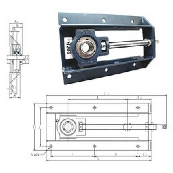 FYH UCTH210-30-300 bearing units #3 image