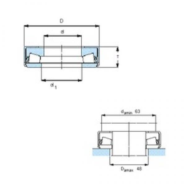 FAG 528546C thrust roller bearings #1 image