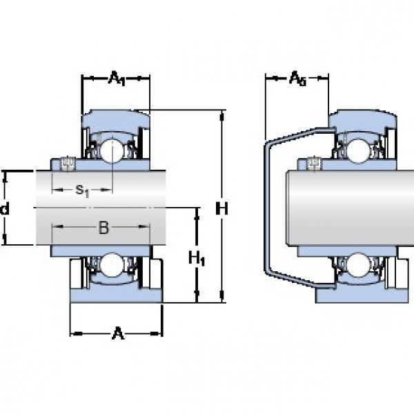 SKF SYFWK 35 LTA bearing units #3 image