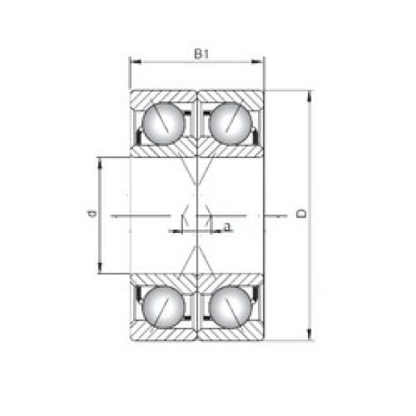 ISO 7228 CDF angular contact ball bearings #3 image