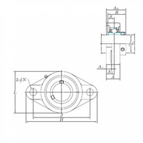 KOYO UCFL206-18 bearing units #3 image
