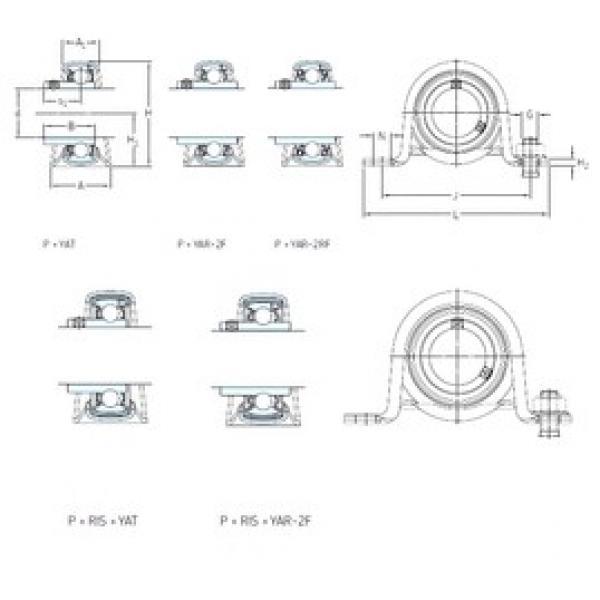 SKF P 52 R-20 TF bearing units #3 image