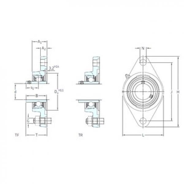 SKF FYTB 30 TR bearing units #3 image