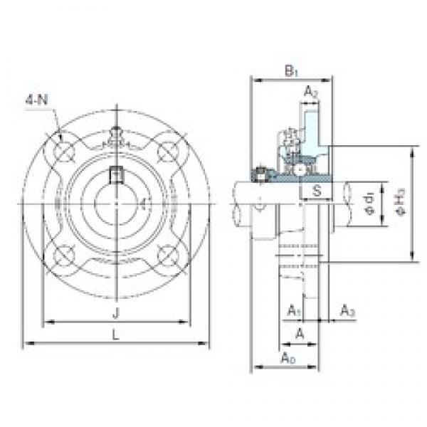 NACHI UGFC207 bearing units #3 image