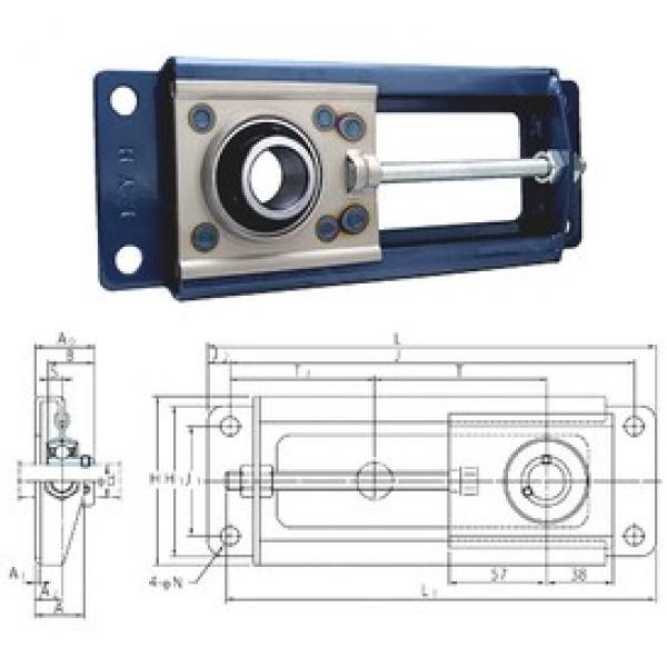 FYH SBNPTH201-100 bearing units #3 image