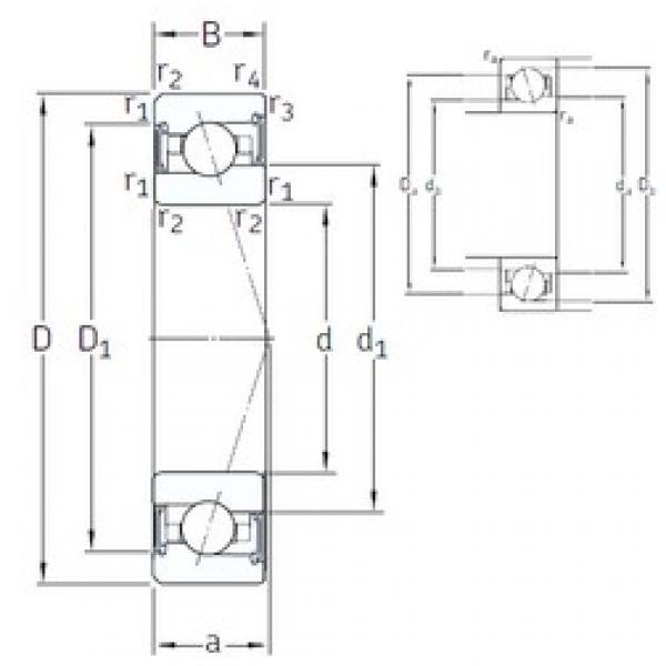 20 mm x 42 mm x 12 mm  SNFA VEX 20 /S 7CE1 angular contact ball bearings #3 image