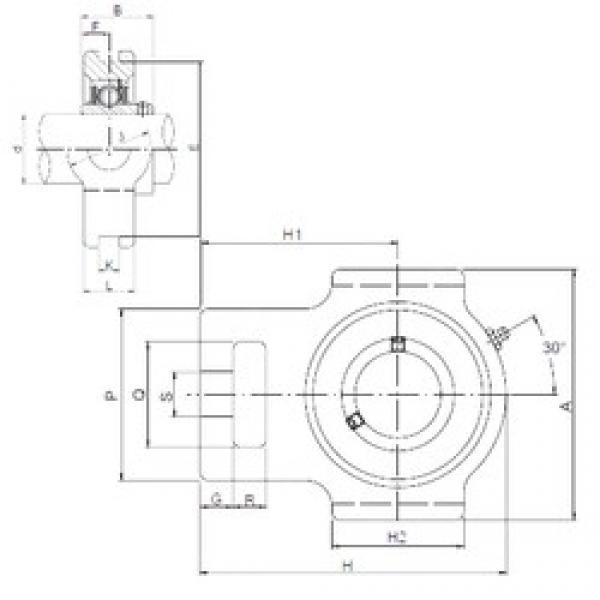 ISO UCTX12 bearing units #3 image