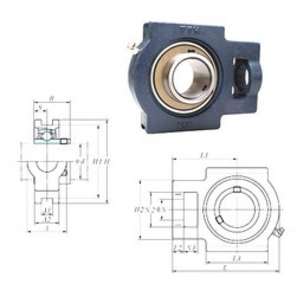 FYH UCT211 bearing units #3 image