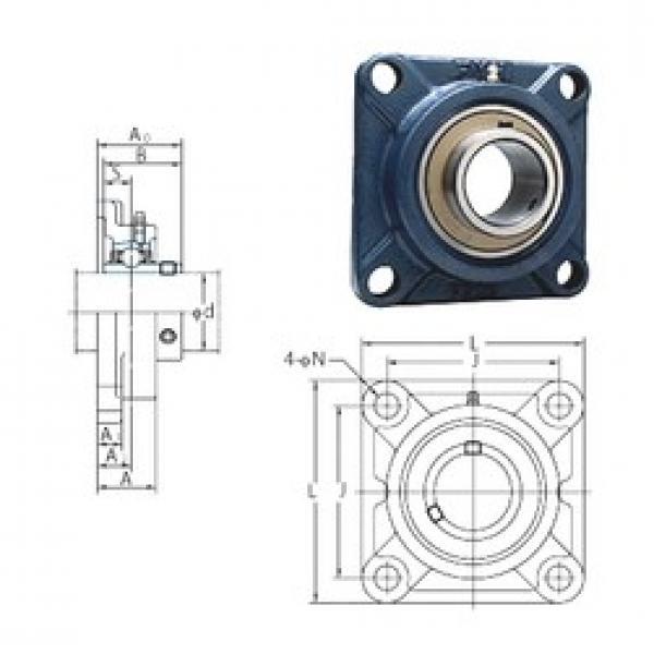 FYH UCF205E bearing units #3 image