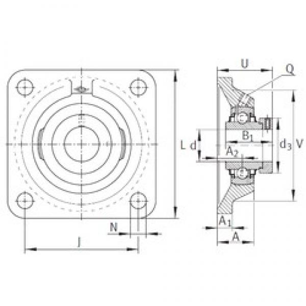 INA RCJ1 bearing units #3 image