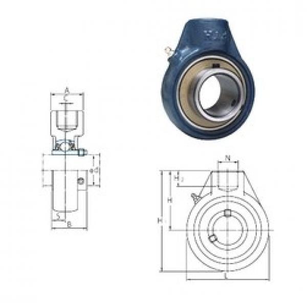 FYH UCHA202 bearing units #3 image