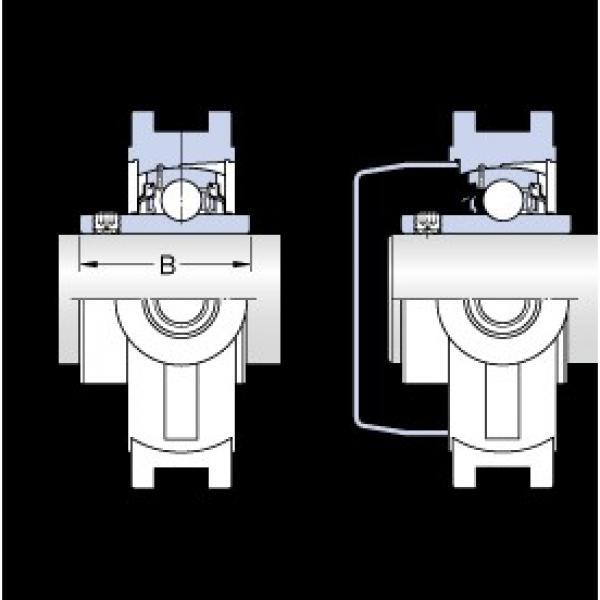 SKF TUWK 1.7/16 LTHR bearing units #3 image
