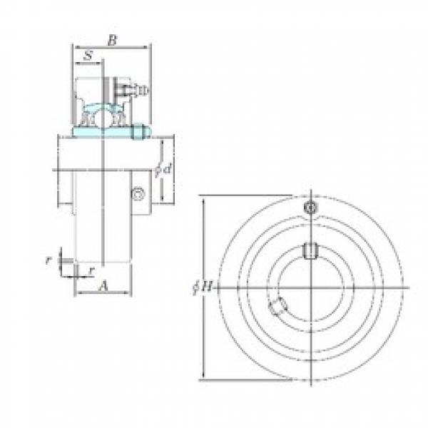 KOYO UCC213 bearing units #3 image