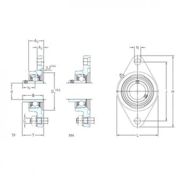 SKF FYT 1/2 TF bearing units #3 image