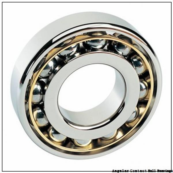 7 mm x 22 mm x 7 mm  SKF S727 CD/P4A angular contact ball bearings #1 image