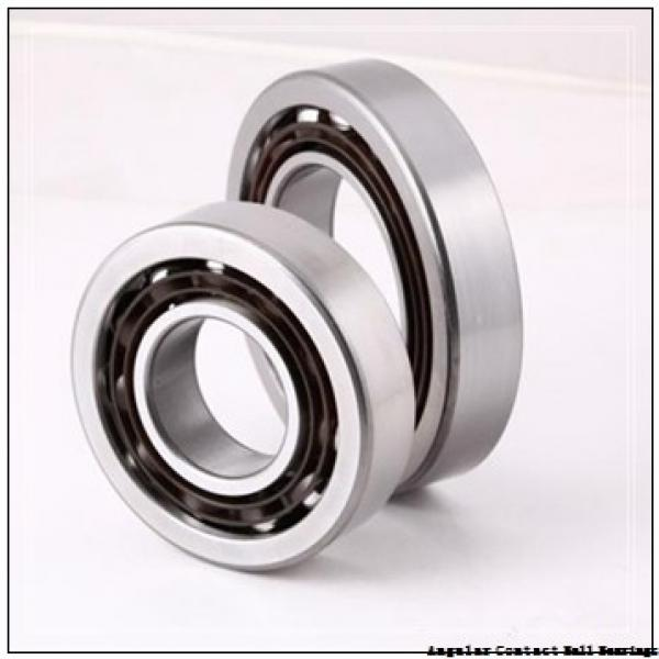 30 mm x 62 mm x 16 mm  SKF 7206 BE-2RZP angular contact ball bearings #1 image