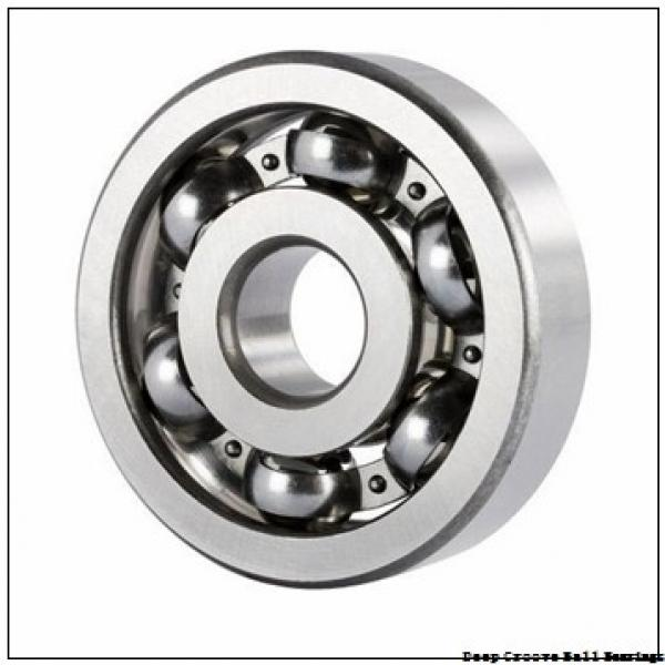 7,938 mm x 12,7 mm x 3,967 mm  ISO FR1810 deep groove ball bearings #1 image