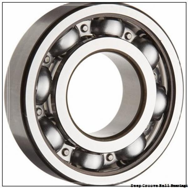 80 mm x 125 mm x 22 mm  NACHI 6016 deep groove ball bearings #1 image
