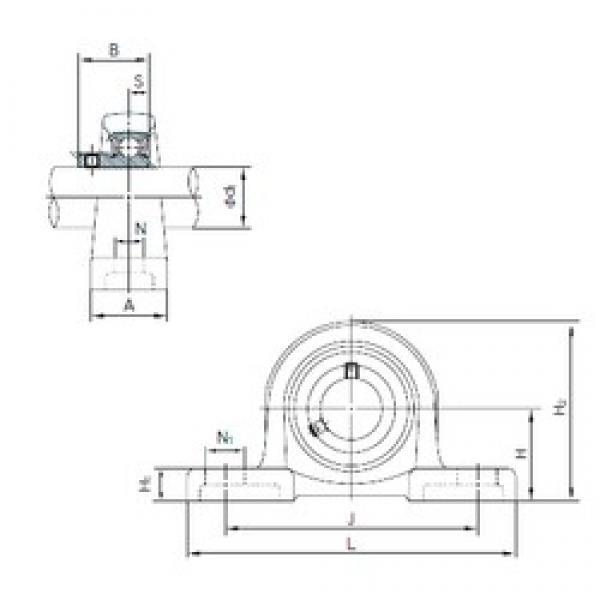 NACHI BLLP6J bearing units #3 image