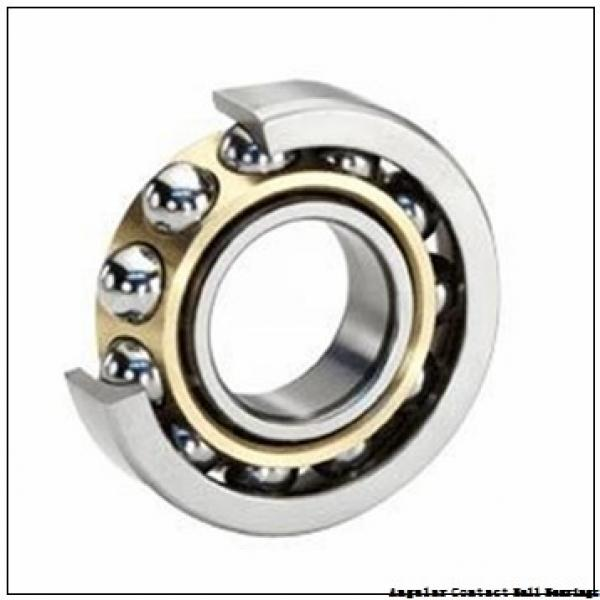 90 mm x 160 mm x 30 mm  CYSD QJ218 angular contact ball bearings #1 image