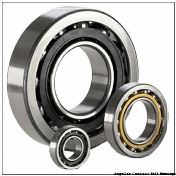 75 mm x 130 mm x 25 mm  FAG 7215-B-TVP angular contact ball bearings #1 image