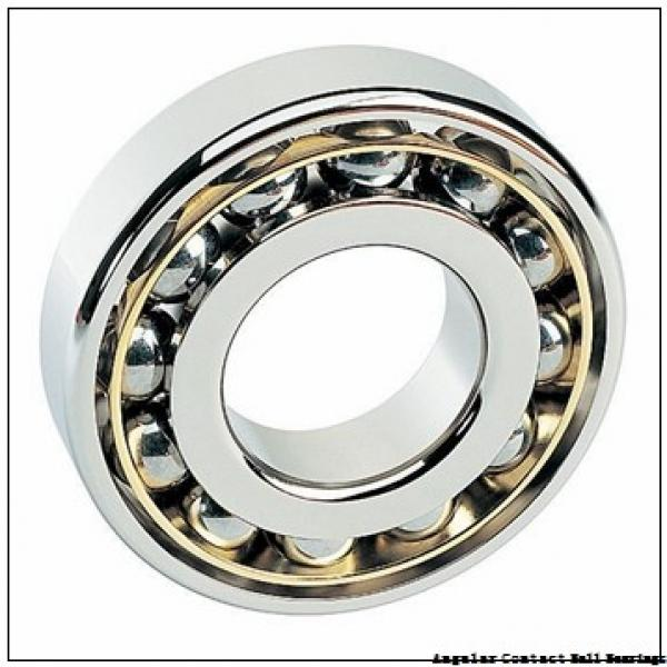 40 mm x 126,2 mm x 43 mm  PFI PHU3135 angular contact ball bearings #1 image