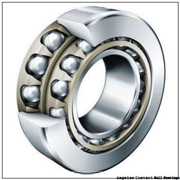 85 mm x 130 mm x 22 mm  NSK 7017 C angular contact ball bearings #1 image