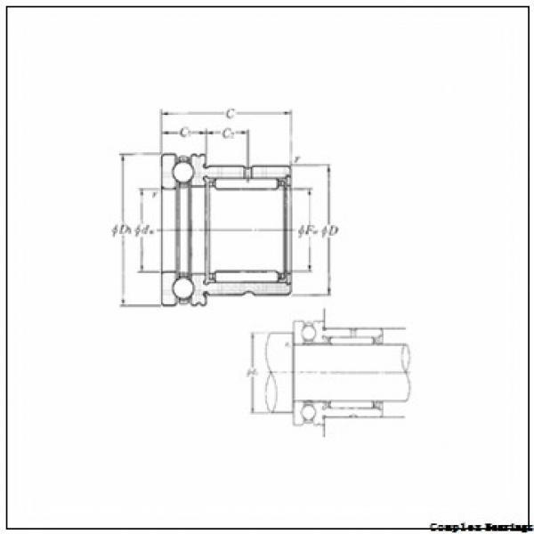 INA ZARN 45105 L TN complex bearings #2 image
