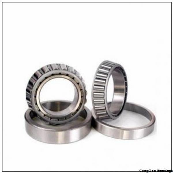 25 mm x 90 mm x 12,5 mm  NBS ZARF 2590 L TN complex bearings #1 image