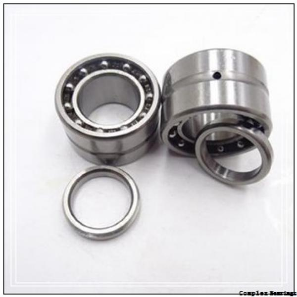 35 mm x 55 mm x 27 mm  ISO NKIA 5907 complex bearings #1 image