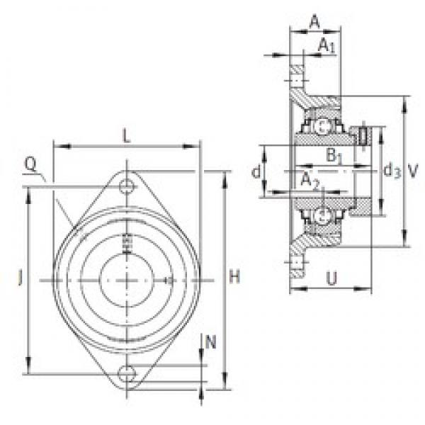 INA RCJT55 bearing units #3 image
