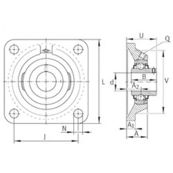 INA RCJY1-11/16 bearing units #3 image