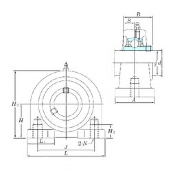 KOYO UCPA203 bearing units #3 image