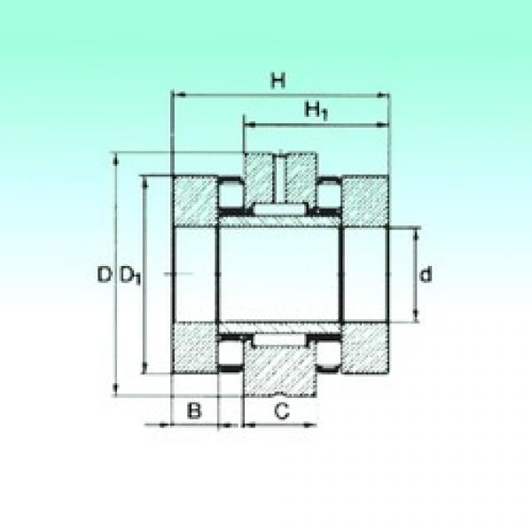 15 mm x 45 mm x 7,5 mm  NBS ZARN 1545 TN complex bearings #3 image