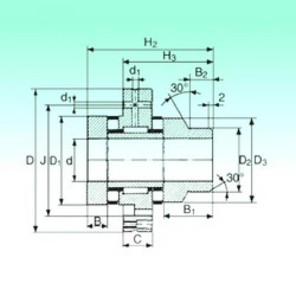 20 mm x 68 mm x 10 mm  NBS ZARF 2068 L TN complex bearings #3 image