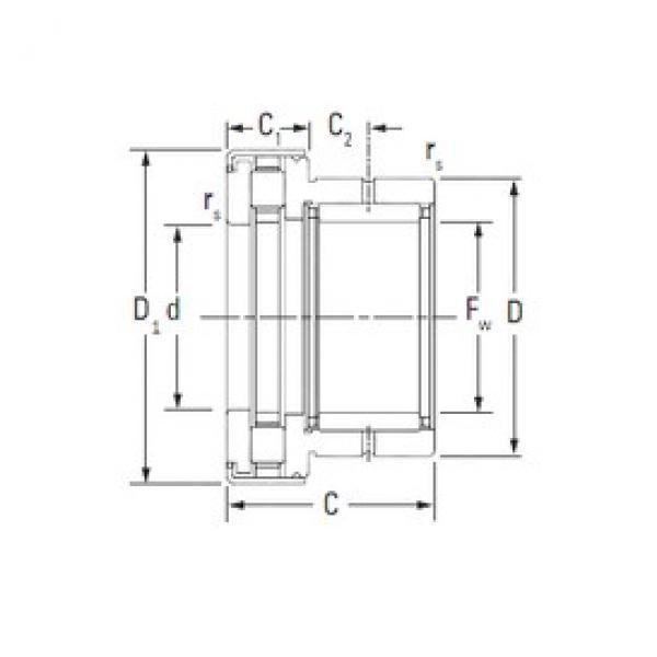 KOYO NAXR17.Z complex bearings #3 image