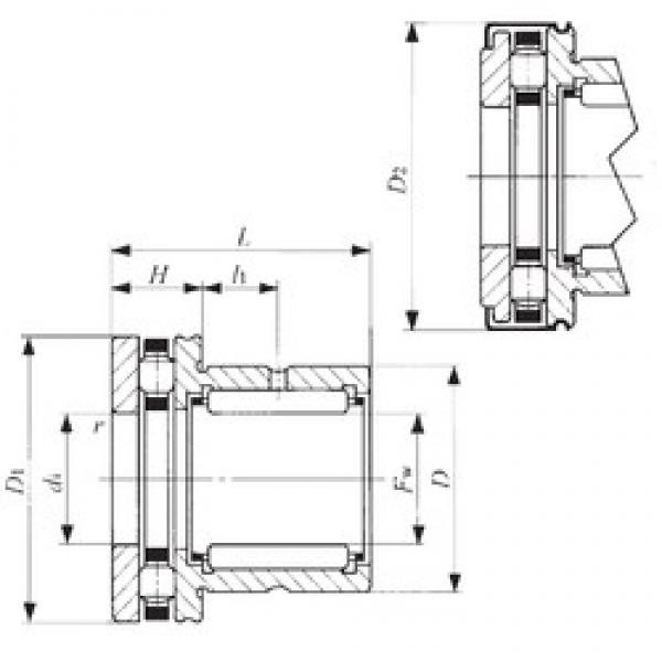IKO NBX 4032Z complex bearings #3 image
