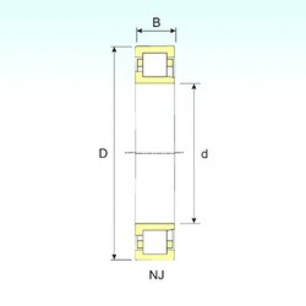 65 mm x 160 mm x 37 mm  ISB NJ 413 cylindrical roller bearings #3 image