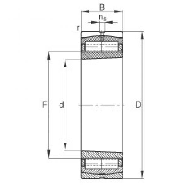 630 mm x 920 mm x 212 mm  FAG Z-565684.ZL-K-C5 cylindrical roller bearings #3 image