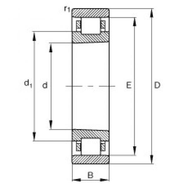 100 mm x 140 mm x 20 mm  FAG N1920-K-M1-SP cylindrical roller bearings #3 image