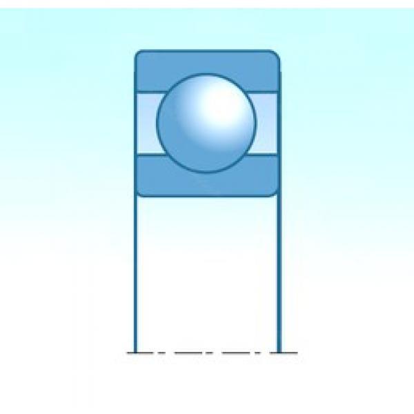 43 mm x 87 mm x 19,5 mm  NSK B43-8 deep groove ball bearings #3 image