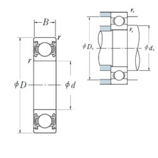 17 mm x 30 mm x 7 mm  NSK 6903ZZ deep groove ball bearings #3 image