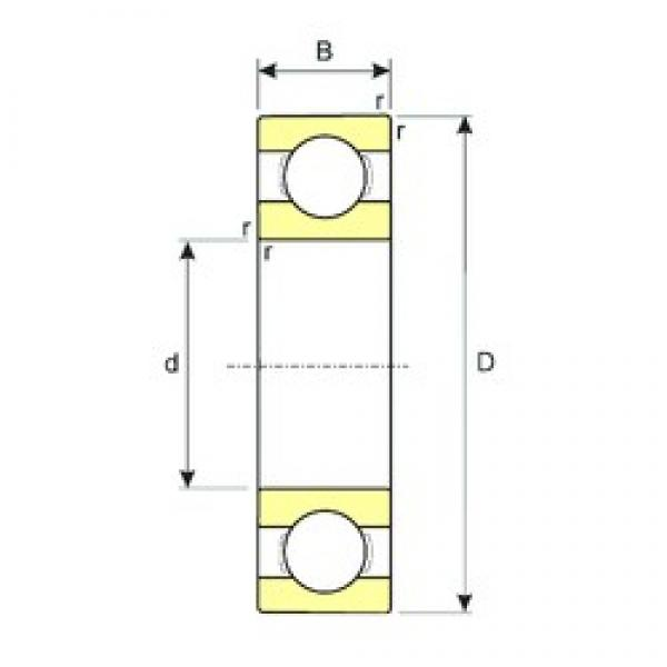 25 mm x 52 mm x 15 mm  ISB SS 6205 deep groove ball bearings #3 image