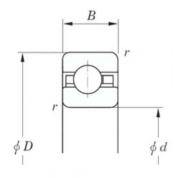 107,95 mm x 123,825 mm x 7,938 mm  KOYO KBC042 deep groove ball bearings #3 image