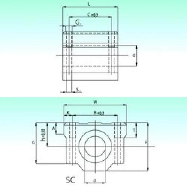 NBS SC 12 AS linear bearings #3 image