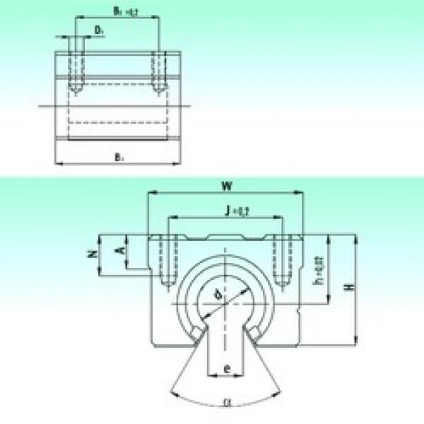 NBS SBR 25 linear bearings #3 image