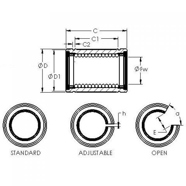 AST LBB 20 UU AJ linear bearings #3 image
