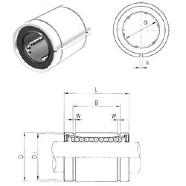 50 mm x 75 mm x 77,6 mm  Samick LME50AJ linear bearings #3 image