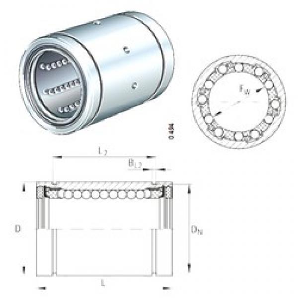 INA KBS16-PP linear bearings #3 image