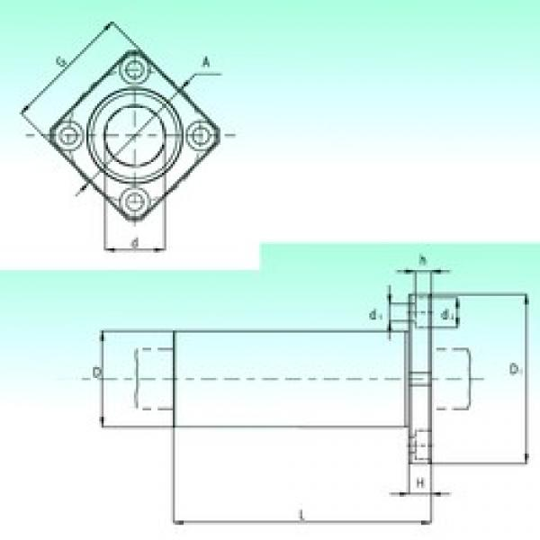 NBS KBKL 20 linear bearings #3 image